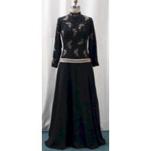 Darius Cordell - #2096LS - Black Mother of Bride Dresses, Long Sleeve Gowns