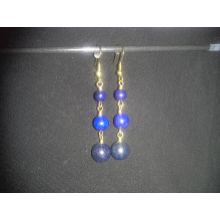 Dyed Lapis Lazuli Earrings
