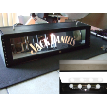 "Custom 36"" Jack Daniel's Whisper pool table  light"
