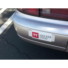Hacker Dojo Bumper Sticker