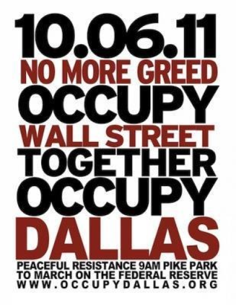 #OccupyDallas
