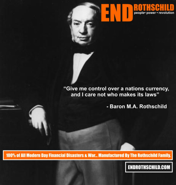 END ROTHSCHILD BILLBOARD CAMPAIGN