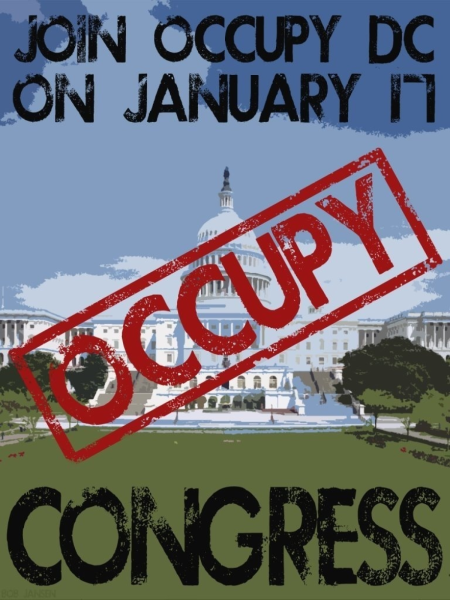 Support Atlantans on their Journey to Occupy Congress: January 17