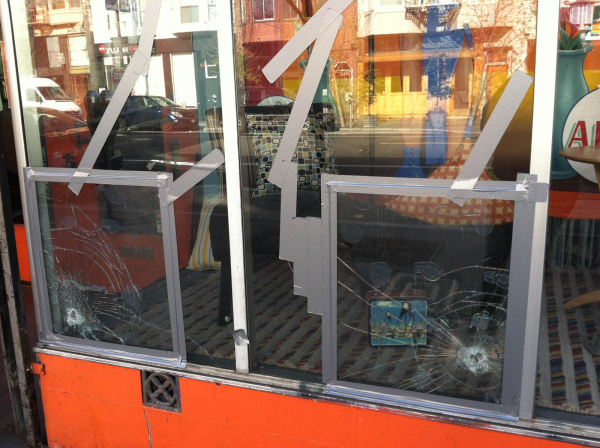 Repair vandalized businesses in the Mission.