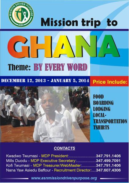 Ghana Christmas Mission