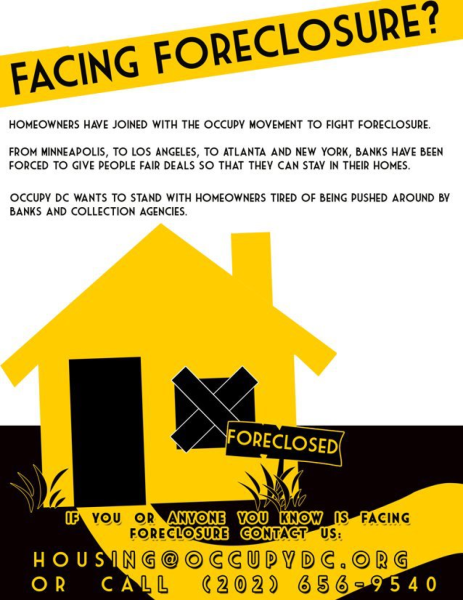 Occupy Our Homes-DC Foreclosure Eviction Defense Fund