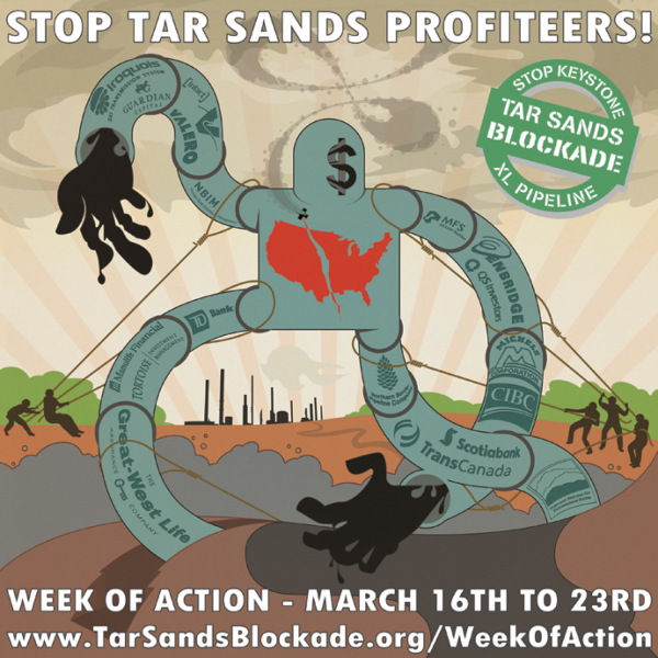 Help Boston area activists go to Oklahoma to help stop the keystone xl pipeline