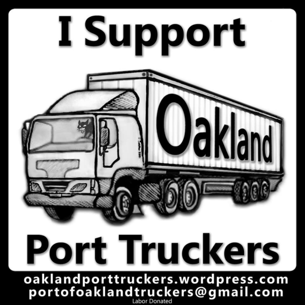 Oakland Port Truckers Strike Fund
