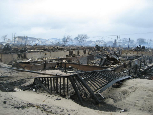 Hurricane Sandy: Raising money for Breezy Point