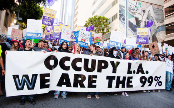 Help Send Occupy Los Angeles to New York for the One Year Anniversary of Occupy Wall Street