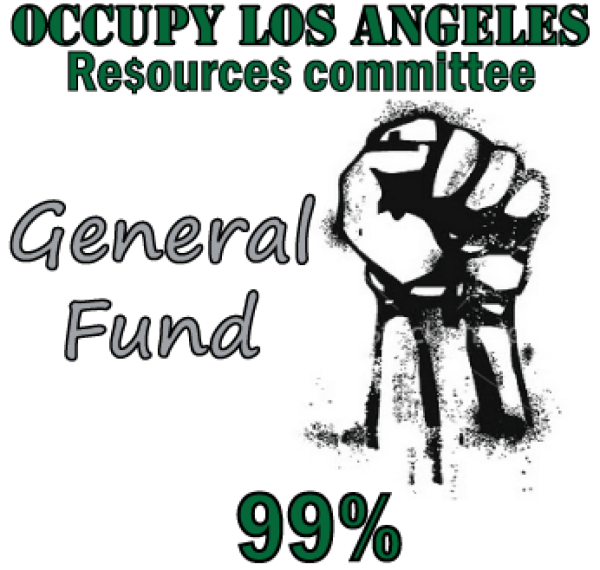 Occupy Los Angeles General Fund