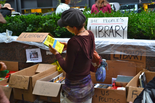 #OccupyWallStreet Library