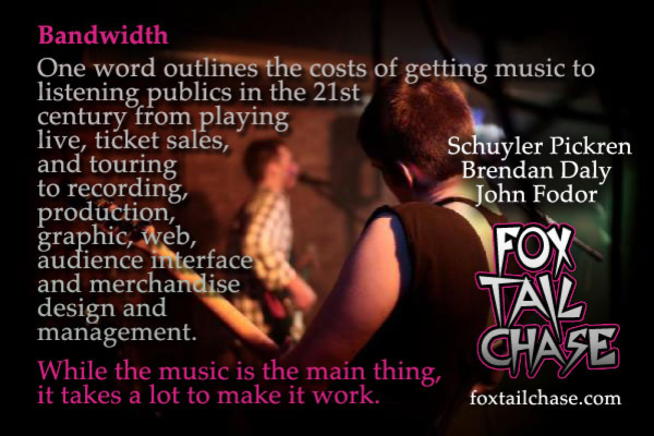 Love the Music! Donate to Fox Tail Chase