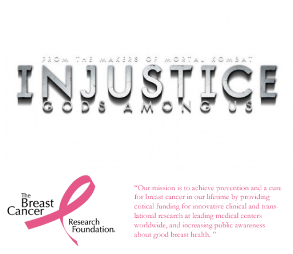 Support Breast Cancer Research (Injustice for EVO 2013)