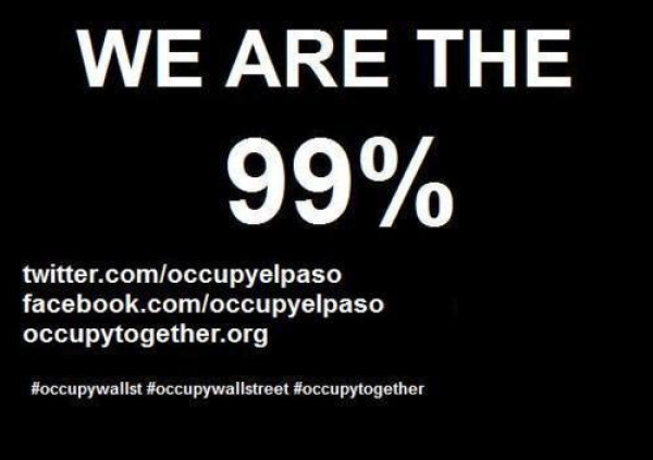 Official Occupy El Paso IS NO LONGER ACCEPTING DONATIONS ON THIS SITE!!!!!!!!