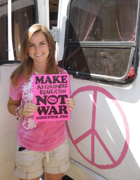 Send Alli McCracken on the CODEPINK Peace Delegation to Pakistan!