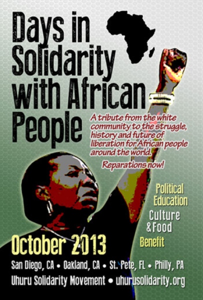 Take the Pledge of Solidarity with African People