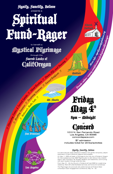 Signify, Sanctify, Believe: Spiritual Fund-Rager!!
