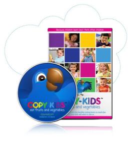 DVD Copy-Kids Eat Fruits & Vegetables