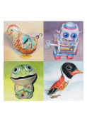 Tin Toy Prints