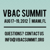 2012 VBAC Summit Recordings